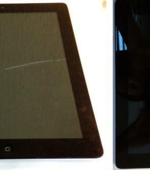 Замена экрана на планшете Apple iPad4